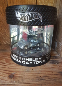 Hot Wheels Limited edition Can Oil 1965 SHELBY COBRA DAYTONA