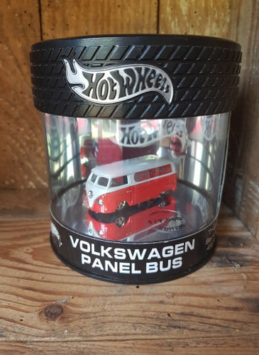 Hot Wheels Limited edition Can Oil VOLKSWAGEN PANEL BUS