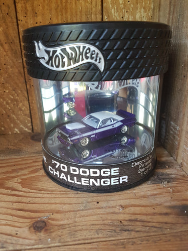 Hot Wheels Limited edition Can Oil 1970 DODGE CHALLENGER