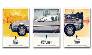 Affiches toiles Retour vers le futur l Back to the Future