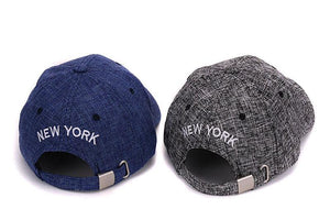 Casquette New York NY rayure