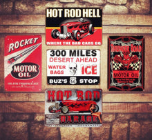 Charger l'image dans la galerie, Plaque métallique Hot Rod Garage Hell