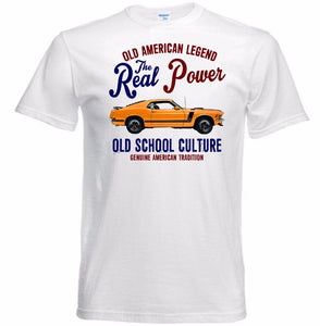 T-shirt Ford Mustang Boss 302 1970 Old School Culture