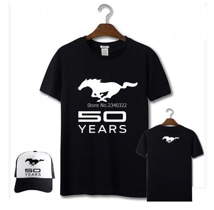 T-shirt + casquette Ford Mustang 50 years