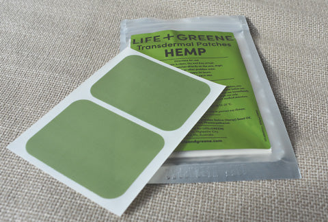 Transdermal hemp patches