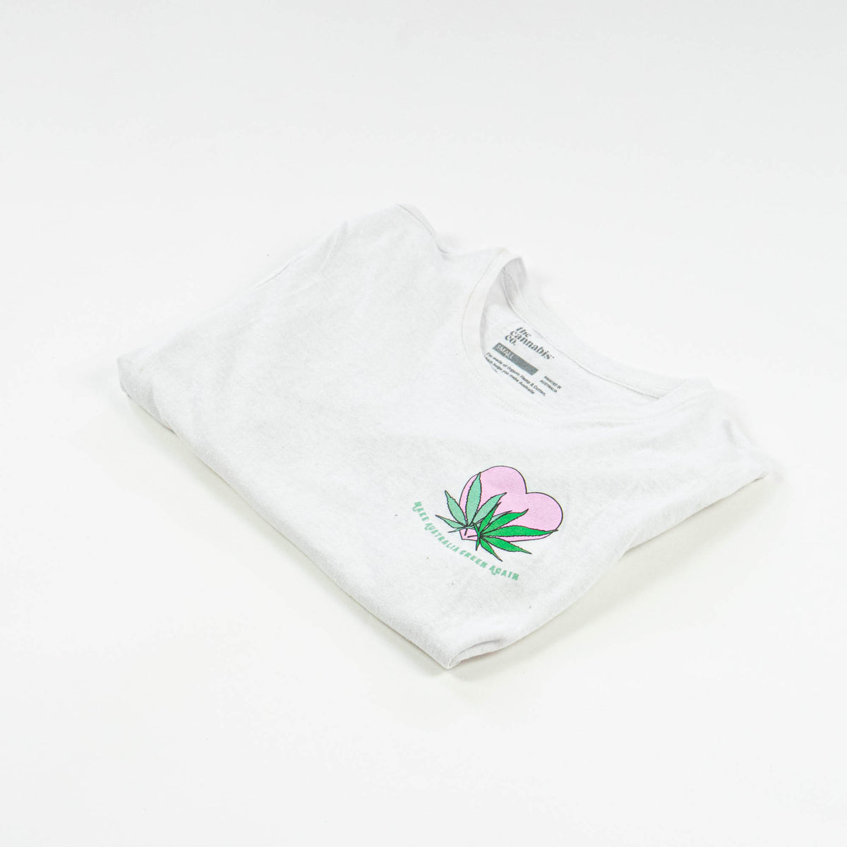White tee by The cannais company