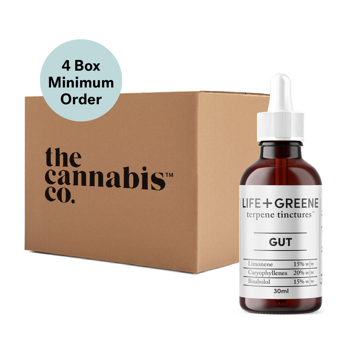 Gut Terpene Tincture 30ml - Box of 6 (MINIMUM ORDER SIZE: 4 BOXES)