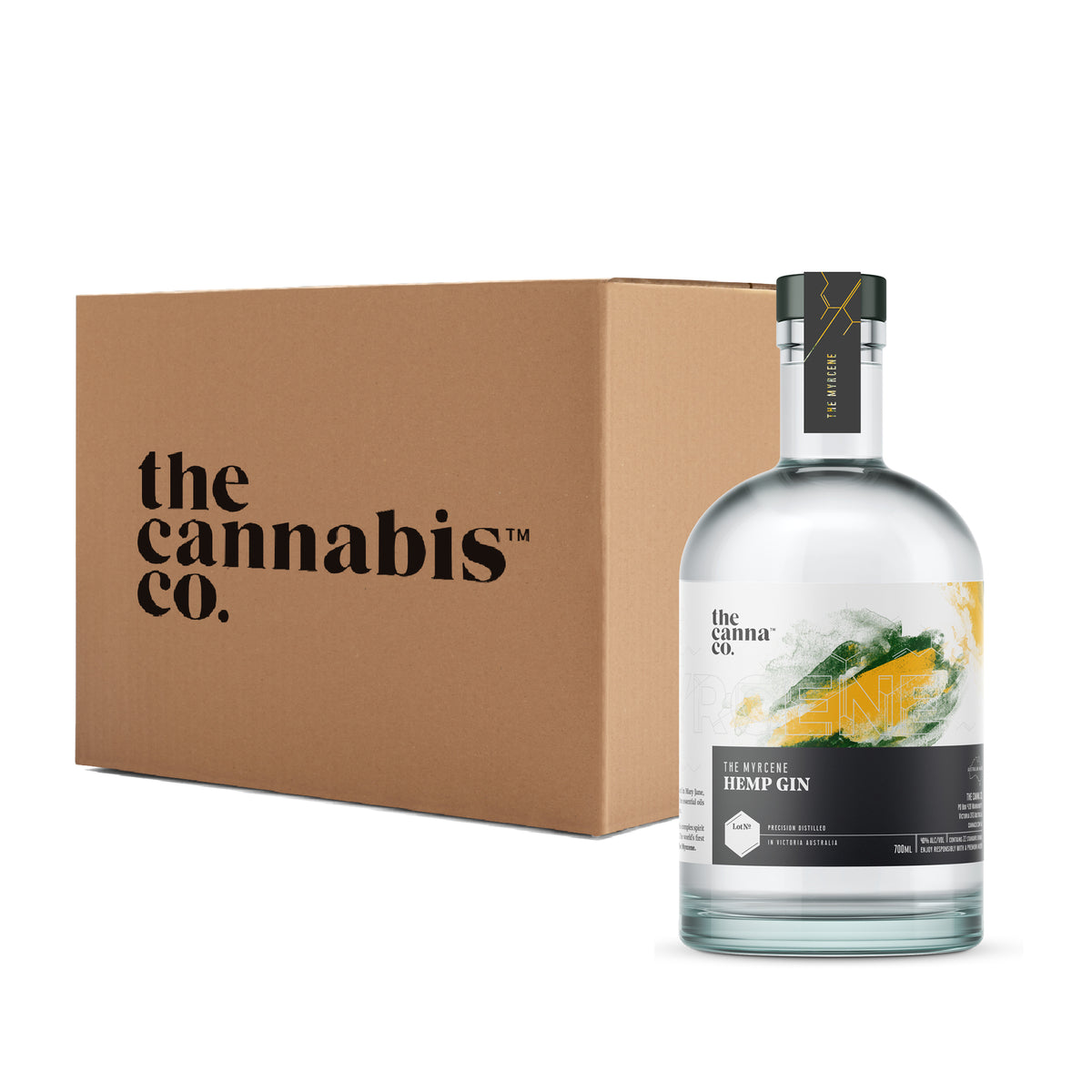 The Myrcene Hemp Gin – Case of 6 x 700ml bottles