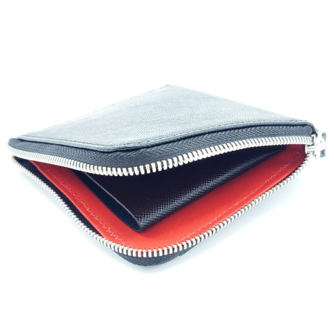 SVB2024S Signature Collection - Zip Card Holder Safiano leather - Selleria Veneta