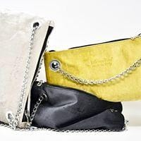 LGSK24 Tracollina - Small bag with chain Silk Velvet - Special Edition - Selleria Veneta