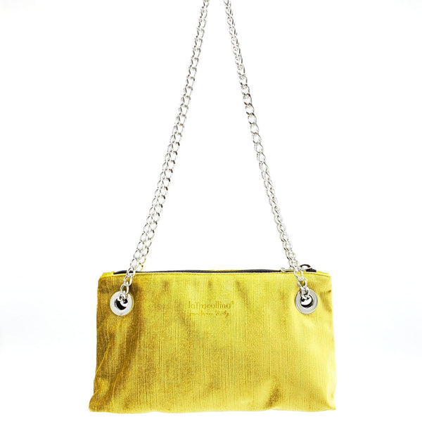 LGSK24 Tracollina - Small bag with chain Silk Velvet - Special Edition