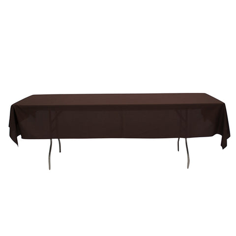 "Nappe Polyester 72"" x 120"" - Chocolat"
