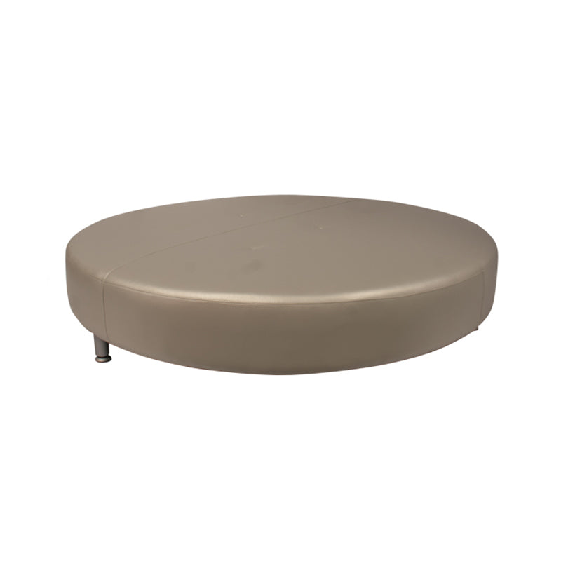 "Banc Art Déco ""Day Bed"" - Argent"