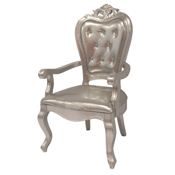 Chaise Style Victoria - Argent