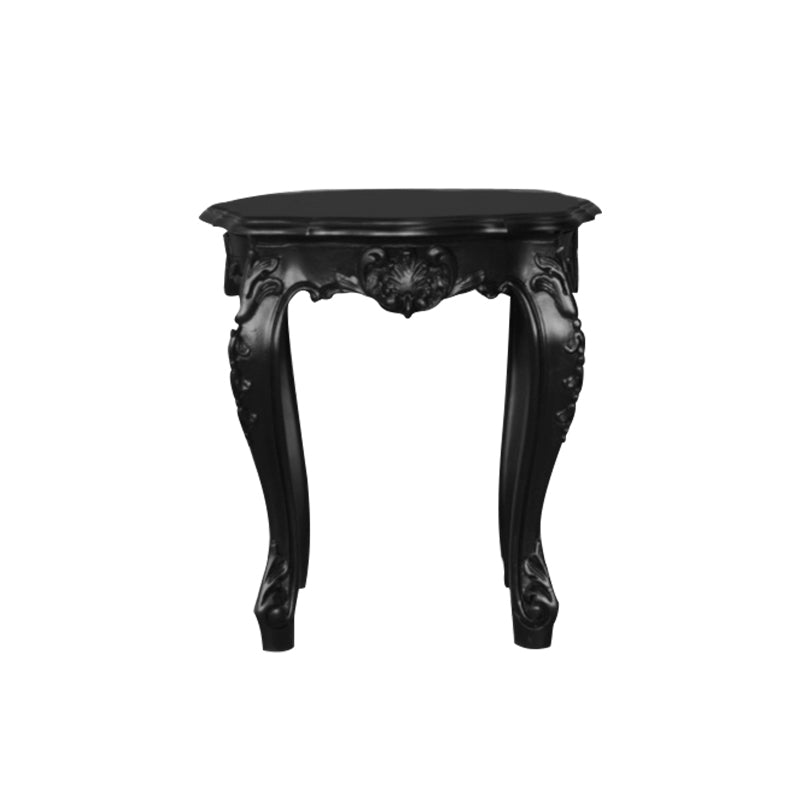 Table D'appoint Style Baroque - Noir