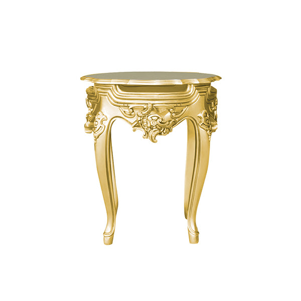 Table D'appoint Style Baroque - Or