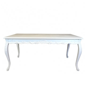 Table Baroque - Blanc