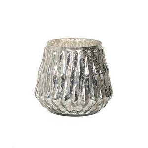 Bougeoirs Mercure Argent