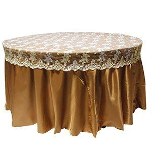 Bonnet de table dentelle Champagne