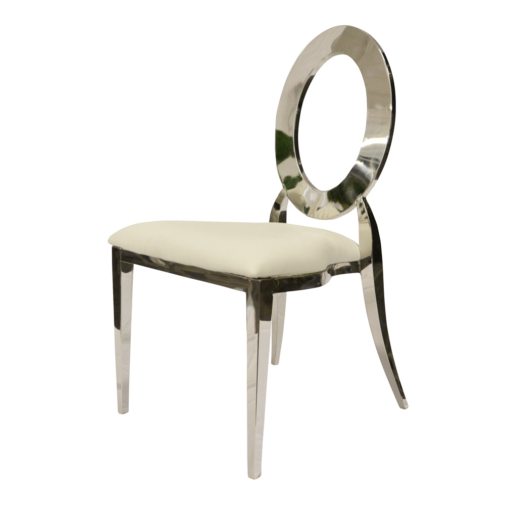 Chaise Louisa - Argent