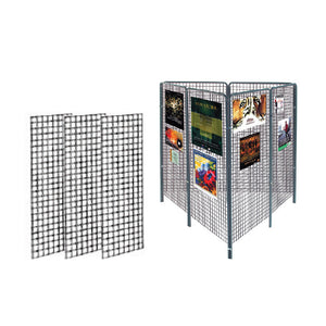 Grillages Noir  2' L x 8' H