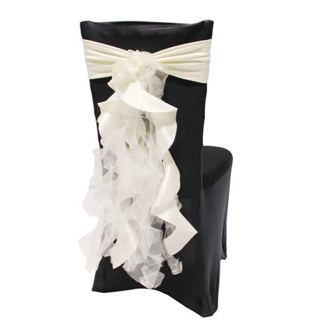 Attache Fantaisie Chiffon - Blanc