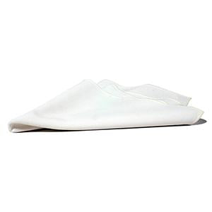 Serviette de Table Polyester - Blanc