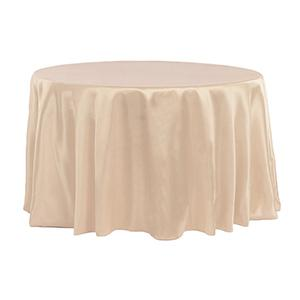 Nappe Satin Brillant - Ivoire