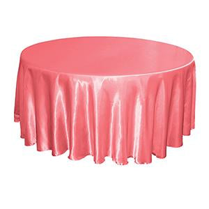 Nappe Satin Brillant - Rose