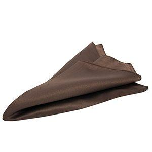 Serviette de Table Peau de Soie - Chocolat