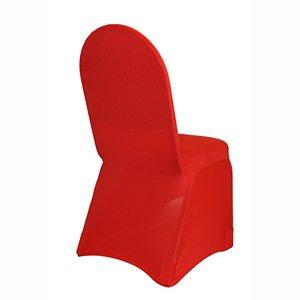 Couvre-Chaise Spandex - Rouge