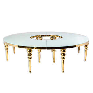Table Louisa Rond - Or