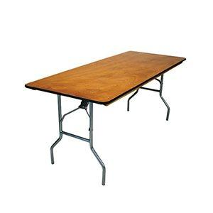 Table Rectangulaire 6'
