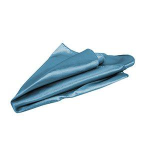 Serviette de Table Taffetas Irisé - Bleu Glacial