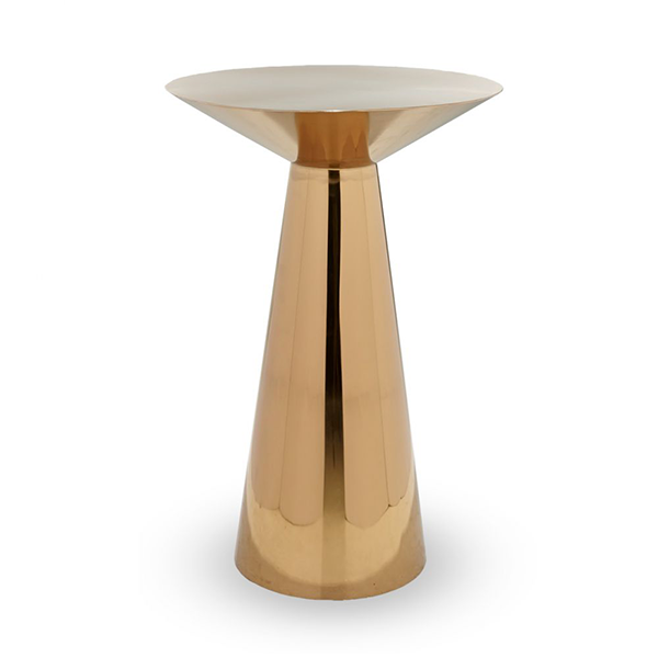 Table Cocktail Chic - Titanium Or