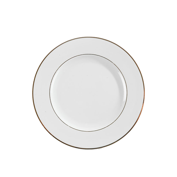 Assiette Filet Or - 9.5''