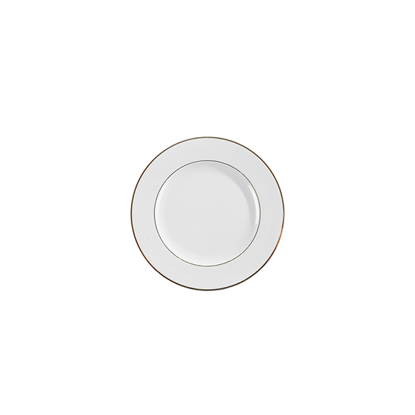 Assiette Filet Or - 7.5''
