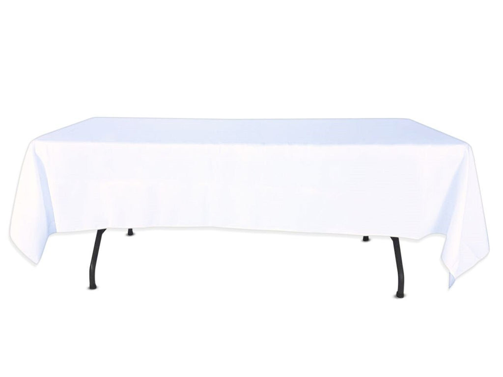 "Nappe Polyester 72"" x 120"" - Blanc"