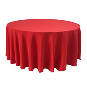 "Nappe Polyester 120"" - Rouge"
