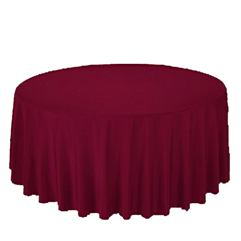 "Nappe Polyester 120"" - Rubis"