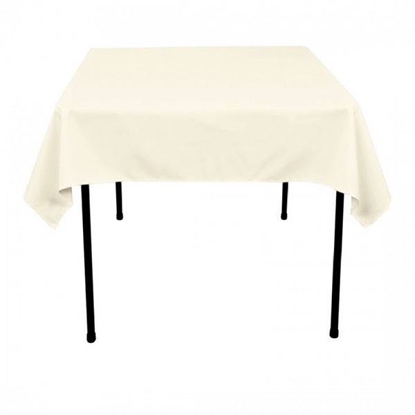 "Nappe Polyester 54"" x 54"" - Ivoire"