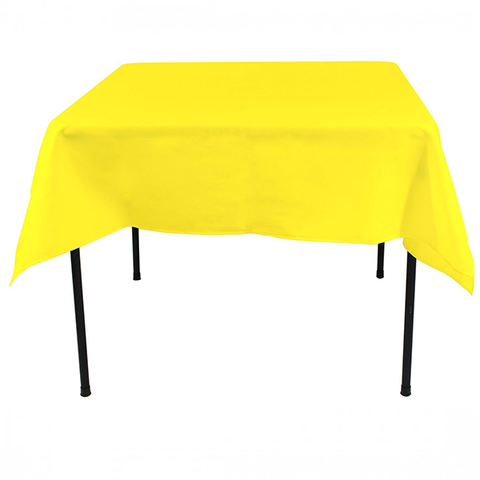 "Nappe Polyester 54"" x 54"" - Jaune"
