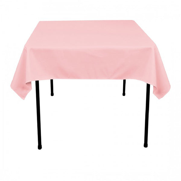 "Nappe Polyester 54"" x 54"" - Rose"