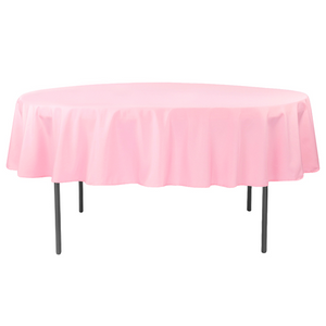 "Nappe Polyester 90"" - Rose"