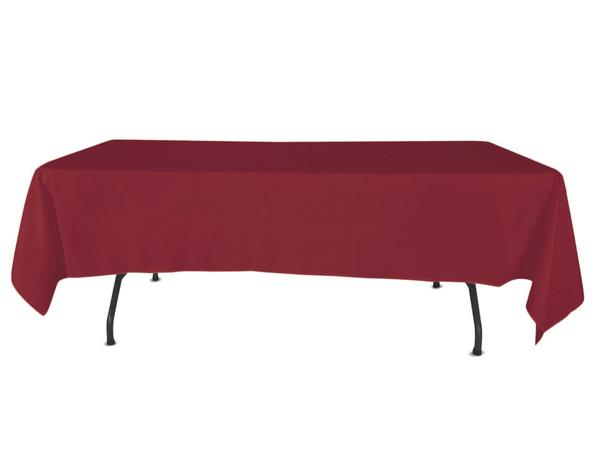 "Nappe Polyester 72"" x 120"" - Rubis"