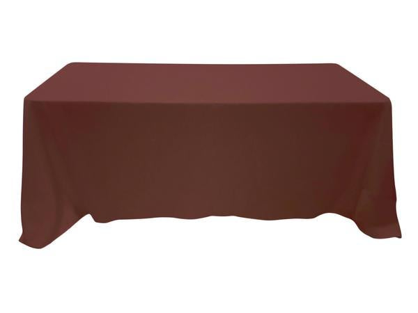 Nappe Rectangulaire Polyester - Chocolat