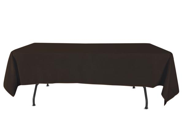 Nappe Rectangulaire Polyester - Noir