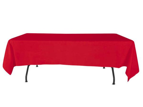 "Nappe Polyester 72"" x 120"" - Rouge"