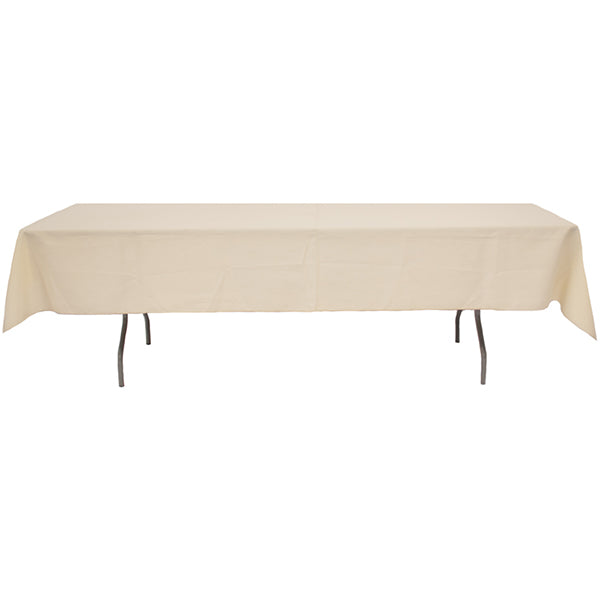 Nappe Rectangulaire Polyester - Champagne
