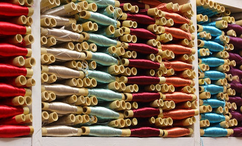 image of bamboo threads